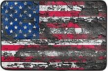 MALPLENA Vintage Stars & Stripes Bodenmatten