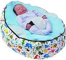 Mama Baba Baby-Sitzsack, mit verstellbarem