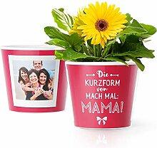 Mama Geschenkideen - Blumentopf (ø16cm) zu