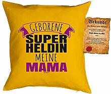 Mama-Kissenbezug/Deko-Bezug ohne Füllung inkl.