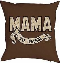 Mama-Spaß-Kissenbezug ohne Füllung: Mama die
