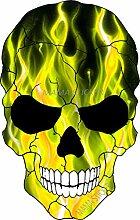 MAMA STICKER Bumper Dead Bone Skelett Teufel Geist