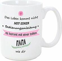 Mama Tasse/Becher/Mug - Bedienungsanleitung -