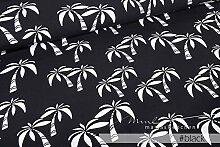 Mamasliebchen Jersey-Stoff Hawaii #Black (0,5m)