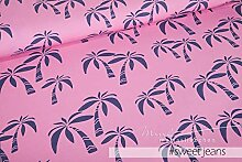 Mamasliebchen Jersey-Stoff Hawaii #Sweet Jeans