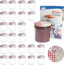 MamboCat 25er 350 ml Sturzglas-Set |