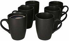 MamboCat 6er Set Kaffeebecher mit Henkel I 250 ml