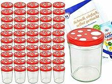 MamboCat Einmachgläser 50er Set Marmeladenglas