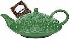 MamboCat Japanische Teekanne Keramik Himeji 1,2l
