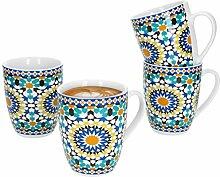 MamboCat Vila 4-teiliges Kaffee-Becher-Set