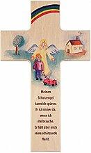 MaMeMi Kinder - Holzkreuz: Schutzengel mit