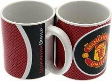 Manchester United Kaffeetasse Porzellanbecher ManU Tasse Fanartikel