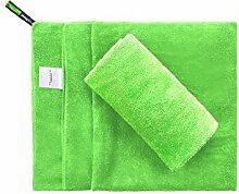MANCU CHAYTON Mikrofaser Handtuch/Extrem Leicht-Ultra saugfähig und Schnelltrocknend-Das Perfekte Reisehandtuch,Sporthandtuch,Badehandtuch,Microfaser Sauna Handtuch,Fitnesshandtuch,Grün,120x60