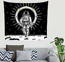 Mandala Coole Astronauten Raumfahrer Mondphasen