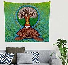 Mandala Ethnisch Stammes Baum des Lebens