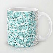 Mandala Kaffee Tasse Funny 11Oz Keramik Kaffee