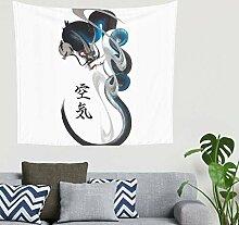 Mandala One Stroke Drachen Gemälde Tier