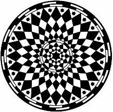 Mandalas Blume Wandaufkleber Yoga Muster Kunst