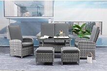 Mandalika Garden FIORA Polyrattan Lounge