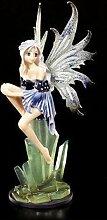 Manga Elfen Figur - Lisra auf Kristallen | Fee