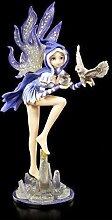 Manga Elfen Figur - Sianth mit Eule | Anime Deko