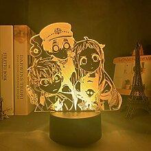 Manga Toilet Bound Hanako Kun 3D Illusion Lampe