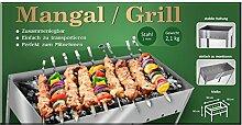Mangal 50sm, Grill, Gartengrill, Campinggrill,Reisegrill, Шашлычница, Мангал, zerlegbar, stabil, Stahl