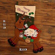 mangege Weihnachtssocke Geschenkbeutel Kinder