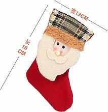 mangege Weihnachtssocke Geschenktüte Kinder