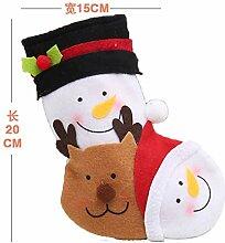 mangege Weihnachtssocken Geschenkbeutel Kind