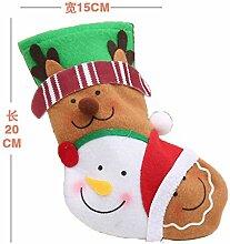 mangege Weihnachtssocken Geschenkbeutel Kinder