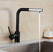 Mangeoo360° drehbaren Küche Wasserhahn ziehen