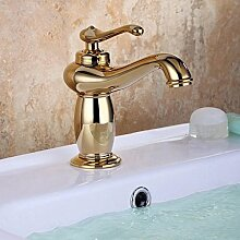 MangeooAntike_Waschtisch Armatur Bad WC und Waschbecken heißes Wasser führenden kurzer Absatz