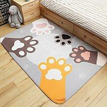 Mangeoo Fußmatte, Schlafzimmerkissen aus der