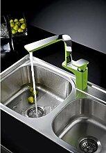 MangeooKreative Persönlichkeit Küche Wasserhahn, Geschirrspüler, Waschbecken Armatur, Wasserhahn, schwenkbar Farbe Wasserhahn