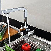 Mangeoo Küchenarmatur Orb Schwarz Bronze Heißer