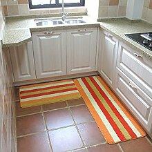 Mangeoo Küchenteppich, Küchenteppich, mit langem