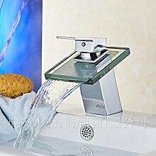 Mangeoo Kupfer Badezimmer Waschbecken mit warmen
