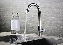 Mangeoo Kupfer kalte Küche Armatur Waschbecken Waschbecken Wasserhahn drehbare Balkon