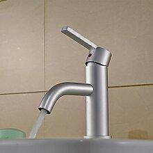 MangeooVeliger_bleifreie Aluminium Armatur Waschtisch Armatur bad Armatur einzelne Bohrung
