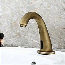 Mangeoo Waschbecken Wasserhahn - Antik Messing