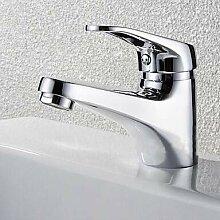 Mangeoo Waschbecken Wasserhahn - Chrom Einhebel