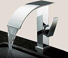 Mangeoo Waschbecken Wasserhahn - Wasserfall