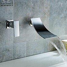 MangeooWasserfall Wasserhahn an der Wand