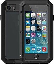 Mangix iPhone 6/6S Fall, Gorilla Glas Aluminium