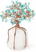 MANIFO Heilender Kristallbaum, natürlicher