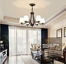Maniny 6 Kopf Wohnzimmer Kronleuchter Europäische
