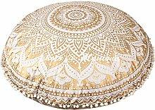 maniona 81,4 cm Gold Ombre Mandala Große