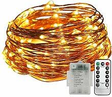 MANLI Kupfer Lichterkette LED 50 Glühbirne