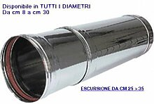Manschette Teleskop mit Länge verstellbar für